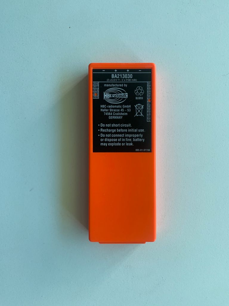 Remote battery