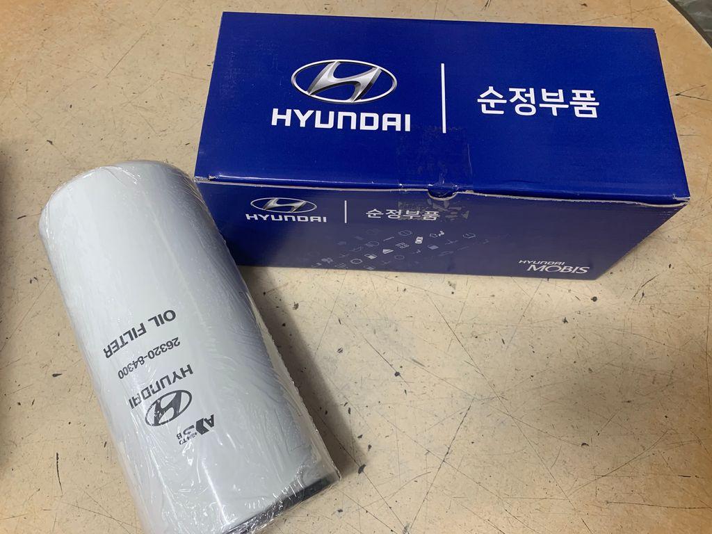 Oil filter (HYUNDAI XCIENT)