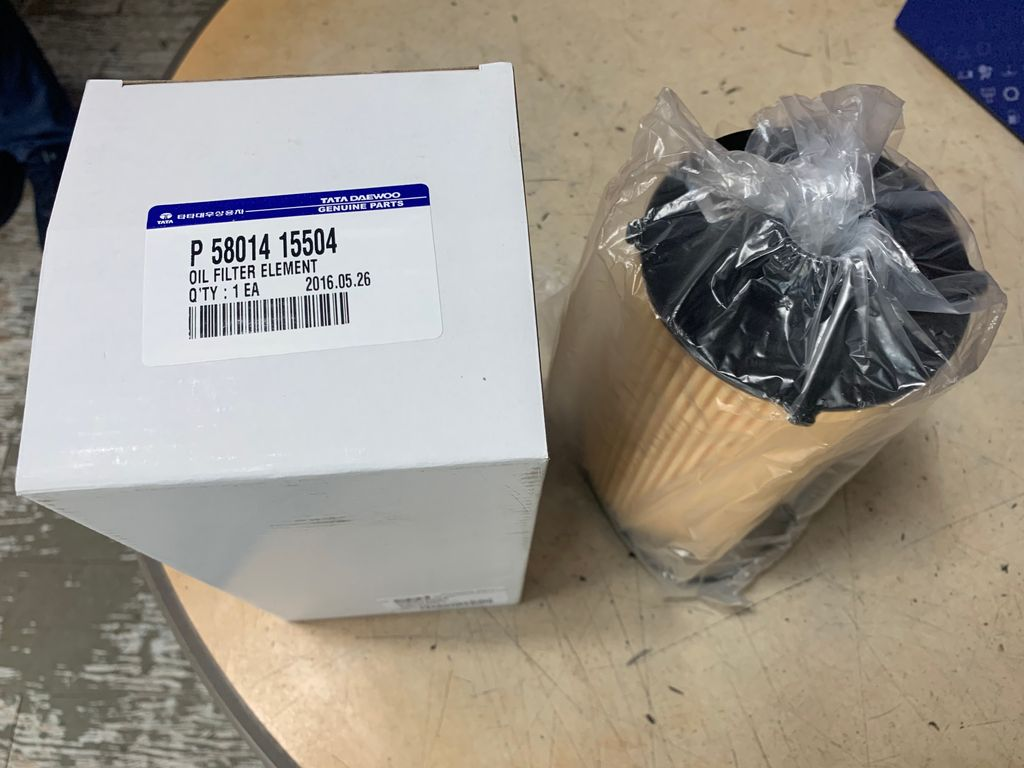 Oil filter (DAWOO PRIMA)