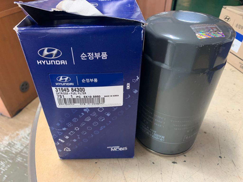 Fuel filter (HYUNDAI NEW POWER TRUCK, XCIENT)