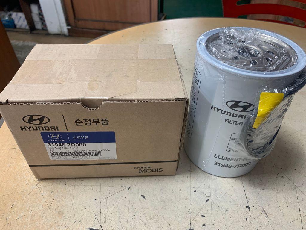 Element fuel filter (HYUNDAI NEW POWER TRUCK, XCIENT)